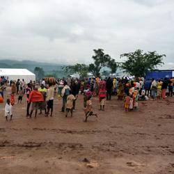 Burundi refugees at the Mahama refugee camp, Rwanda. Photo credit: EU/ECHO/Thomas Conan