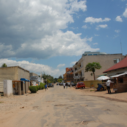 Whilst streets like this in Bujumbura appear calm, Burundi is still wracked by ongoing violence. Image credit: Dave Proffer