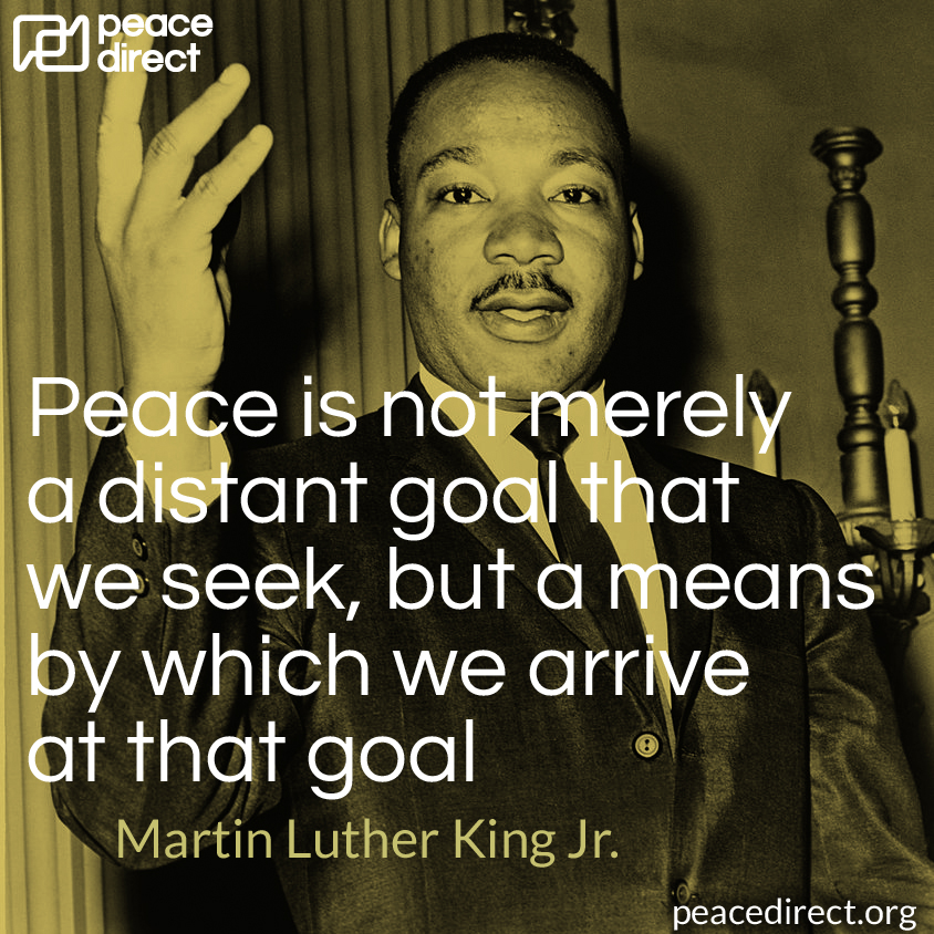 Martin Luther King Jr. peace quote
