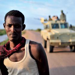 Young men in war-torn Somalia face huge challenges. (Photos: Tobin Jones, AU-UN IST Photo)