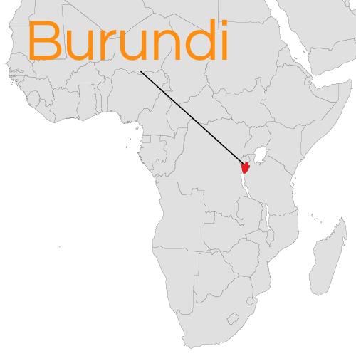 Burundi Peace Direct - Where is burundi on a world map