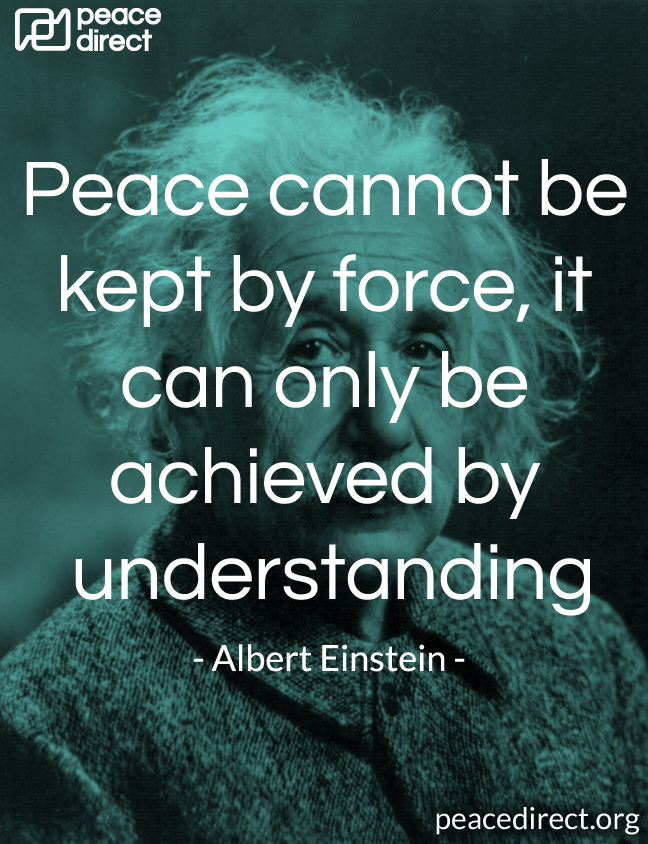 Peace Quotes Peace Direct