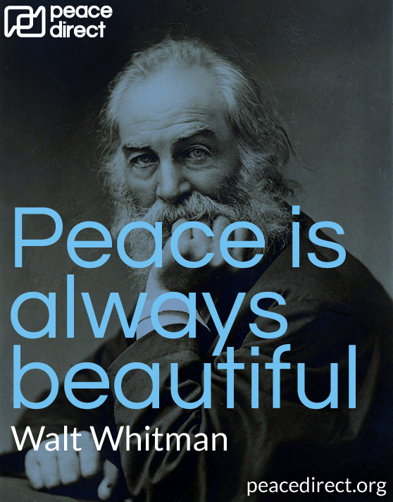 peace is always beautiful walt whitman - Peace Quotes