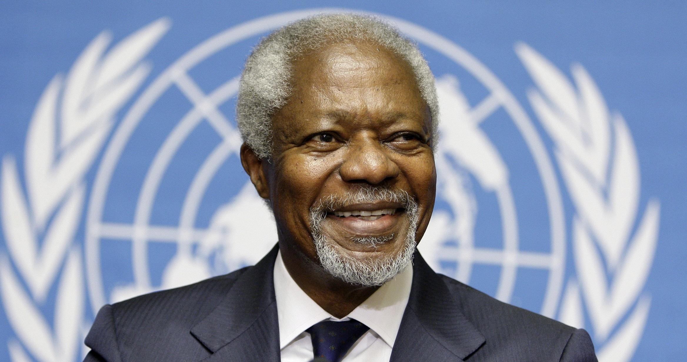 Kofi Annan, a legacy of peace